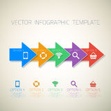 Web Infographic Arrows Template Layout With Vector Stock Photos