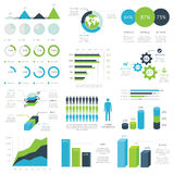 Web infographic elements vector Royalty Free Stock Photo