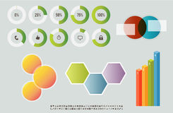 Web Infographic Elements Royalty Free Stock Photo