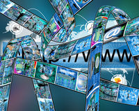 Web information Stock Images