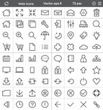 Web Interface Icons Stock Photo