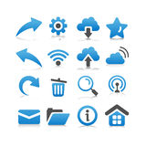 Web and Internet Icon Royalty Free Stock Images