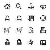 Web & Internet Icons 1 - minimo series Stock Photo