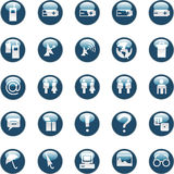 Web and internet icons Stock Photography