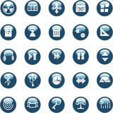 Web and internet icons Royalty Free Stock Photos