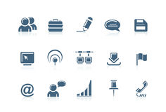 Web and internet icons 2 Stock Photos