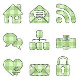 Web and Internet icons - handmade series Stock Photo