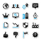 Web internet icons set -  Royalty Free Stock Images