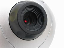 Web-Kamera Lizenzfreies Stockbild