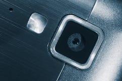 Web-Kamera und blitzen Ihr Handy Stockfoto