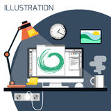 Web-Konzept des Entwurfes Stockfotos