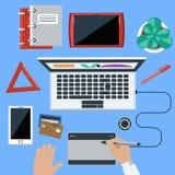 Web-Konzept des Entwurfes Lizenzfreie Stockfotografie