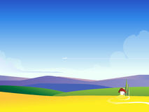 Web landscape illustration background Stock Photography