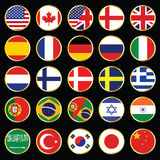 Web Language Icon Collection Royalty Free Stock Photo