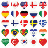 Web Language Icon Collection Royalty Free Stock Image
