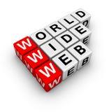 Web largo di parola Immagine Stock Libera da Diritti