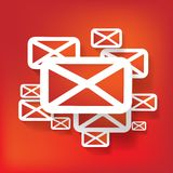 Web letter icon Royalty Free Stock Image