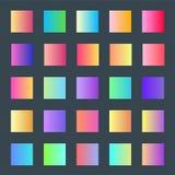 Web light gradients for design vector illustration