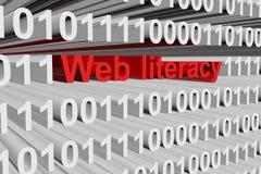 Web literacy Royalty Free Stock Photo