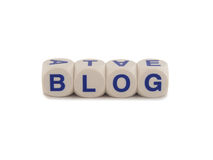 Web Log Blog Stock Photography