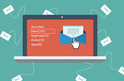 Web Mail Box Royalty Free Stock Photo