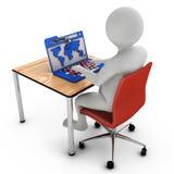 Web man Stock Images