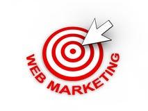 Web Marketing Concept stock illustration