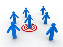 Web Marketing Concept Stock Photography