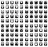 Web and Media Vector Icon Set Stock Photography