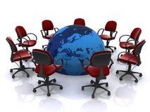 Web meeting Royalty Free Stock Image