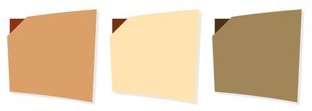 Web menu templates Royalty Free Stock Images