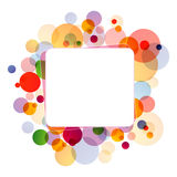 Web message box Royalty Free Stock Images