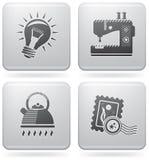 Web Miscellaneous Set Stock Images