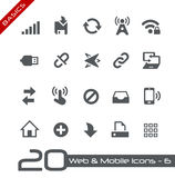 Web & Mobile Icons-6 // Basics Stock Image