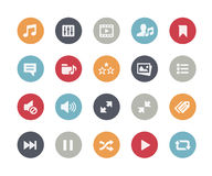Web & Mobile Icons 7 // Classics Royalty Free Stock Photo