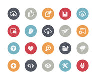 Web & Mobile Icons - 8 // Classics Royalty Free Stock Photo