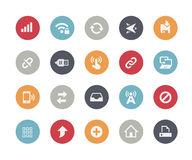 Web & Mobile Icons - 6 // Classics. Vector icons for web, mobile or print in projects for Telecommunications, System Icons, Menu Apps, Social Communications and Royalty Free Stock Images