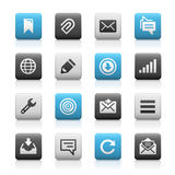 Web and Mobile Icons 9 - Matte Series Royalty Free Stock Images