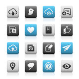 Web and Mobile Icons 8 - Matte Series Royalty Free Stock Images