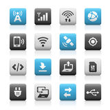 Web and Mobile Icons 6 - Matte Series Stock Photography