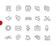 Web & Mobile Icons 1 // Red Point Series Stock Illustration