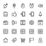Web and Mobile UI Line Vector Icons 10. A collection of Web Mobile Ui Vector Icons that you can easily integrate in your design and the cool thing is, that there Stock Photos