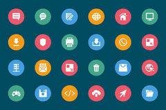 Web and Mobile Vector Icons 3 Stock Images