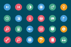 Web and Mobile Vector Icons 5 vector illustration