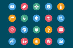 Web and Mobile Vector Icons 6 Royalty Free Stock Image