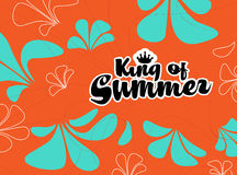 King of summer Royalty Free Stock Photo