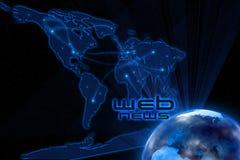 Web-Nachrichten Lizenzfreie Stockbilder
