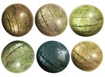 Web naturale del rubino della stella del aqua e dell'argento Fotografia Stock