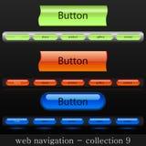 Web navigation Stock Photos