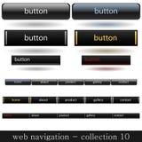 Web navigation Royalty Free Stock Photo